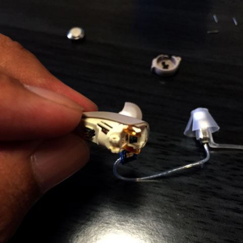 シーメンス補聴器クリーニン