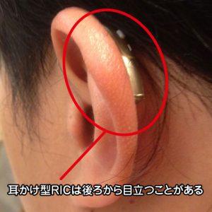 クロス補聴器 耳掛け