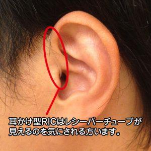耳かけ型 RICタイプ