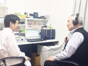 聴力測定 補聴器専門店