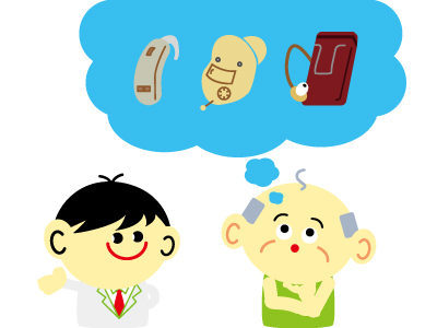 骨伝導補聴器 クロス補聴器 種類
